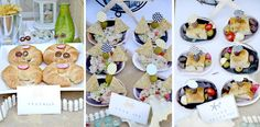 Just love these crab croissants for this beach themed party.