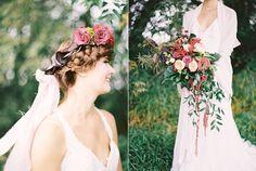 floral wedding details - photo by Milton Photography http://ruffledblog.com/blooming-wedding-inspiration