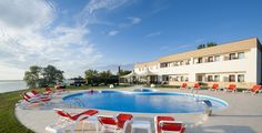 Public pool at Hotel G.G.Gociman (http://www.hotelgggociman.eu), #Mamaia, #Black Sea
