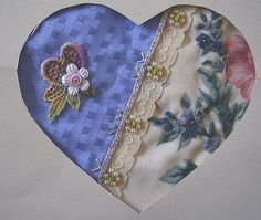 I ❤ embroidery & crazy quilting . . . Swapped with Maire ~By crazyQstitcher