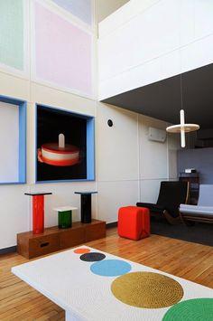 Pierre Charpin à l'appartement n°50 de la cité Radieuse – Miluccia