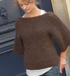 Knitting this right now. I only have the back panel left, then it's getting blocked.