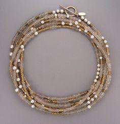 very old Czech glass...sandblasted sterling...Africa brass... teripelio.com