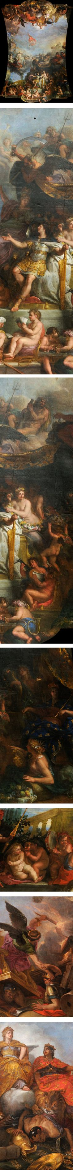 Eye Candy For Today Charles Le Brun S The King Governs By Himself