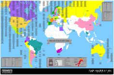 The World Map of Roller Derby Leagues – Frogmouth