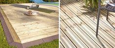 Une terrasse en bois qui s'installe en un clin d'œil