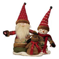 音楽に合わせ歌って踊る可愛らしい置物。【ダンシング人形「おめでとうクリスマス」】
