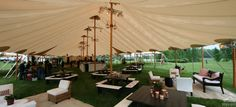 Wedding Reception Sperry Tent Interior // Sperry Tents Southeast // Skyline Tent Company