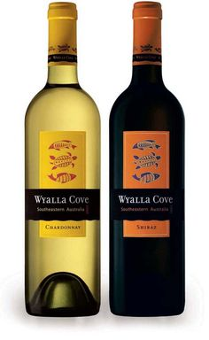 Wyalla Wines packaging by Juli Shore