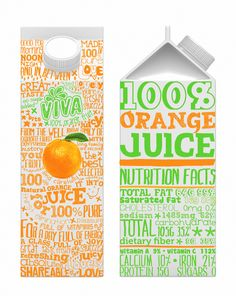 Packaging Design by Jana Misheva, via Behance - draw the orange too then it would be reeeeally awesome.