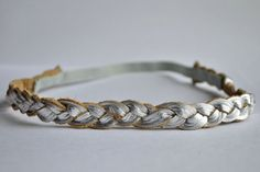 Hey, I found this really awesome Etsy listing at https://www.etsy.com/listing/168034200/metallic-leather-braided-heaband-newborn