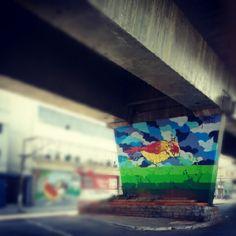 Eles passarão, eu passarinho. 1º Museu Aberto de Arte Urbana. Av. Cruzeiro do Sul. São Paulo - SP.