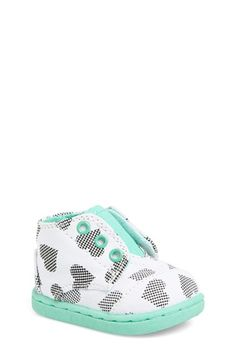 TOMS 'Paseo Tiny - Digi Hearts' Mid Bootie (Baby, Walker & Toddler) available at #Nordstrom
