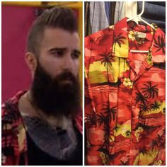 #bigbrother #paulie #sameshirt We have great taste in clothes