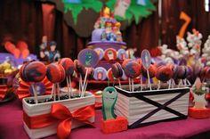 Slugterra Themed 7th Birthday Party