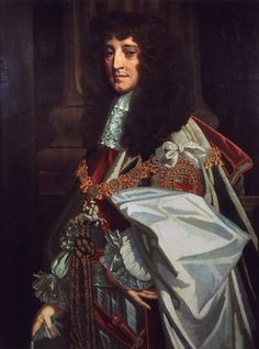 Prince Rupert of the Rhine, grandson of James I, great-grandson of Mary, Queen of Scots, Studio of Sir Peter Lely, painting,circa 1670