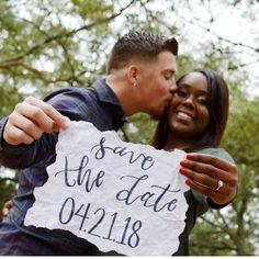Awesome newly engaged interracial couple photography #love #wmbw #bwwm #swirl