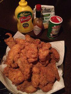 Perfect fried catfish!!