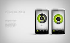 Greenlots UI of mobile charging by Higher