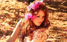 FF • Menina Bonita Bordada de Flor