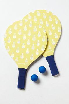 Paddleball Set at Anthropologie $24