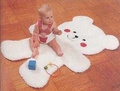 Crochet For Kids, Crochet Baby, Craft Patterns, Crochet Patterns, Animal Rug, Crochet Carpet, Baby Kit, Diy Pillows, Knitted Blankets