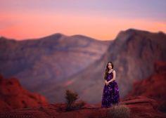 Desert Sunset by Lisa Holloway on 500px