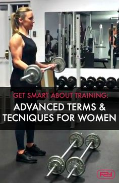 Get Serious And Smart About Training: Advanced Terms & Techniques For Women. No fluffy advice here. This is real, effective training information for women. A must-read if you want better results in the gym. Full Upper Body Workout, Workout Videos, Fun Workouts, Fit Women, Advice, Training, Gym, Female, Fitness