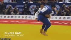 What a great O-uchi-gari!So much control and speed!