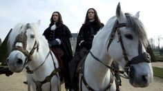 Versailles packs a lot of sexy intrigue within the walls of King Louis XIV's palace, but a complicated sibling rivalry powers the historical drama. Louis Xiv Versailles, Versailles Tv Series, Palace Of Versailles, George Blagden, Music Tv, Famous People, Tv Shows, Castle, Versailles