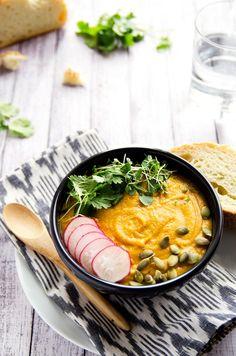 Warming Yellow Split Pea Soup