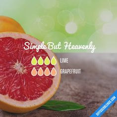 Simple But Heavenly - Essential Oil Diffuser Blend
