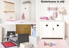 Landelijke #babykamer en #kinderkamer meubels | Camilla collection via Kinderkamerstylist