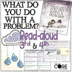 Interactive Read aloud lesson plans and activities for the book, What Do You Do With a Problem? by Kobi Yamada