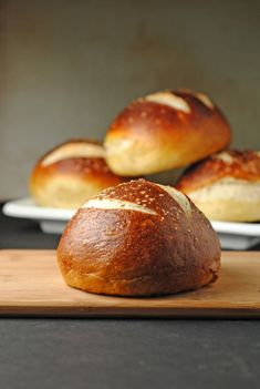 Homemade Pretzel Hamburger Buns ,,, are really fantastic, and NOT HARD TO MAKE