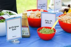 Grickle Grass Salad - The Lorax                         Chips with Oobleck