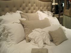 Really liking this neutral scheme for the master bedroom