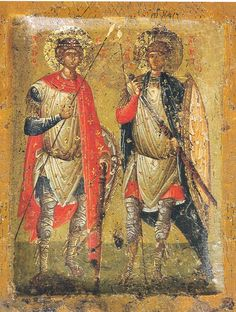 Saints George and Demitrius ❤
