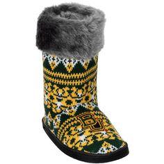 Women's Baylor Bears Aztec Boots // #SoMuchSicEm!!
