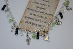 Wicked the Musical Charm Bracelet by BethanyMJewellery on Etsy, £12.00