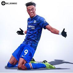 Fifa Football, Football Art, Chelsea Football, Football Players, Chelsea Fc Players, Chelsea Fans, Neymar, Tammy Abraham, Football Pictures