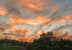 Sky is on fire by attilio78