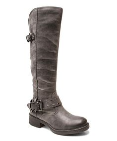 Take a look at this Black Master Boot on zulily today!