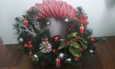 Vianočný veniec z papiera / Paper Christmas wreath