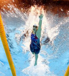Swimming Womens 400m Freestyle - Katie Ledecky USA - Rio Olympics 2016 - SFGate