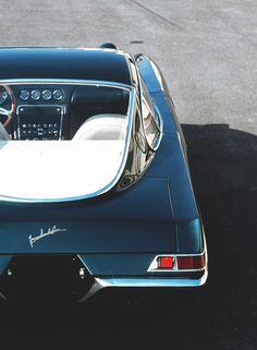 Lamborghini 350 GTV rear window