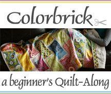 Colorbrick Quilt-Along by StitchedInColor, via Flickr