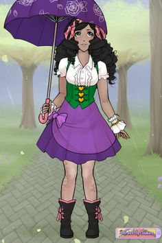 Esmeralda Lolita Gypsy ~ by Saundra_Banks ~ created using the Other Dolls doll maker | DollDivine.com