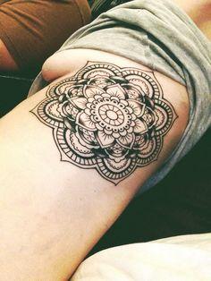 Mandala tattoo.  GURU TATTOO SD CA