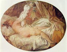 Autore: Honoré Fragonard Nome dell'opera: La camicia tolta Data: 1765-1762 Tecnica: olio su tela Collocazione attuale: Louvre, Parigi